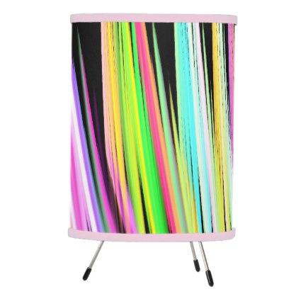 Pop Art Crayon Scribble Tripod Lamp