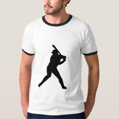 Baseball Player at Bat T-Shirt