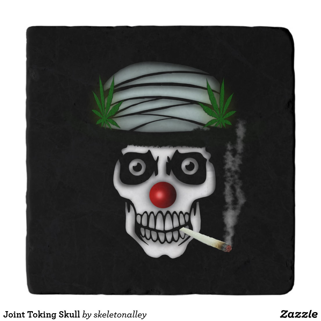 Joint Toking Skull Trivet