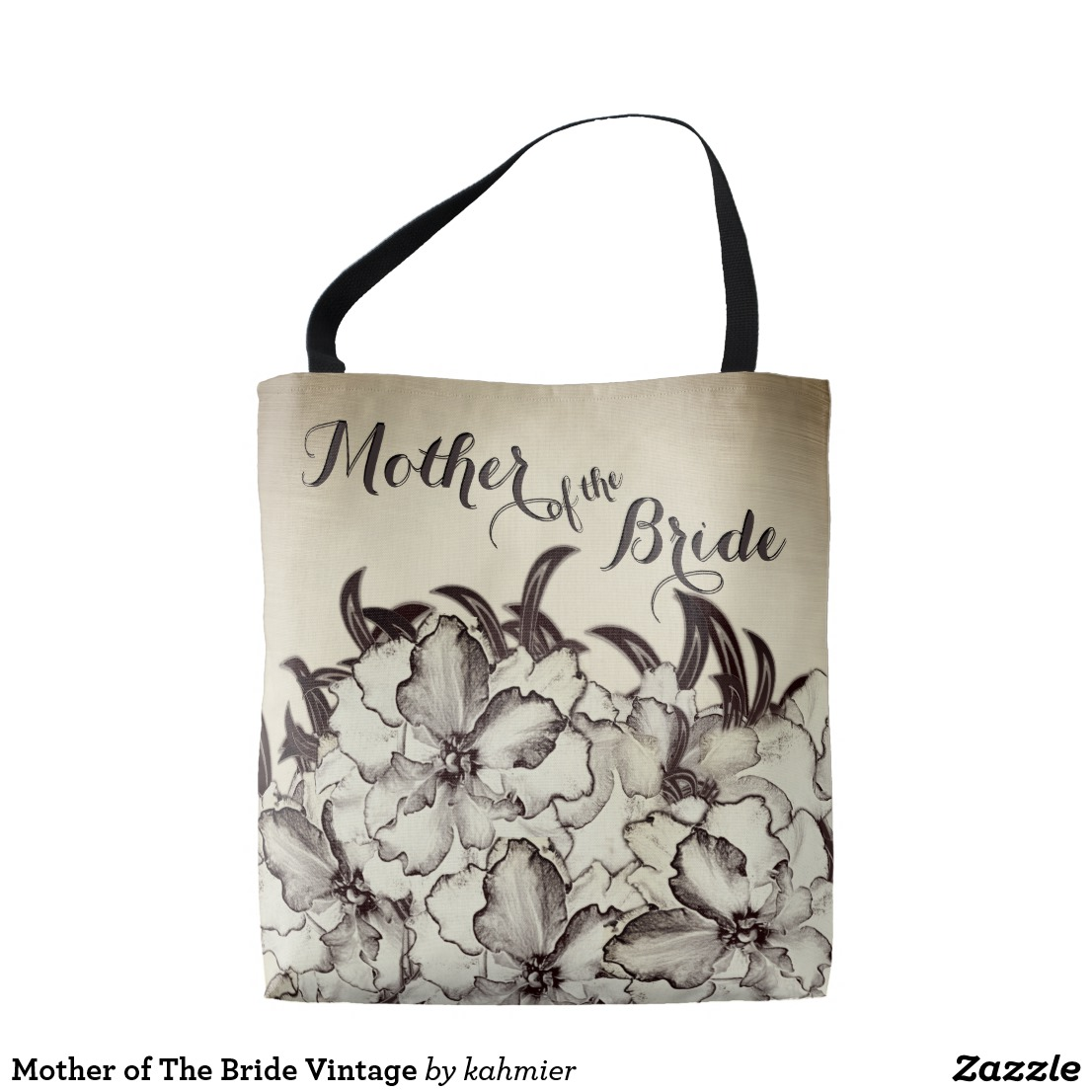 Mother of The Bride Vintage Tote Bag