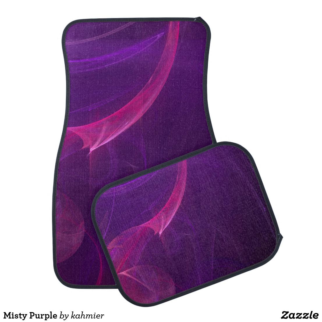 Misty Purple Car Floor Mat