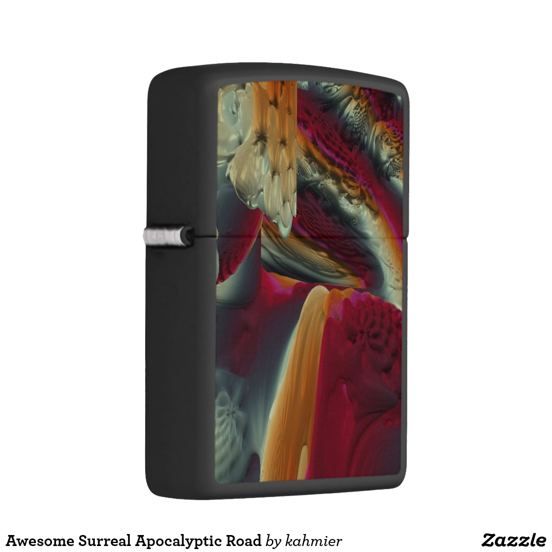 Awesome Surreal Apocalyptic Road Zippo Lighter