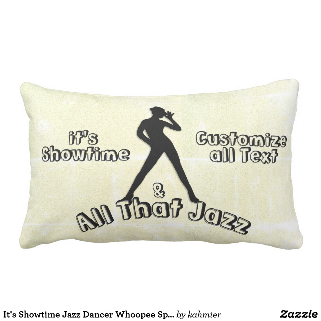 It's Showtime Jazz Dancer Whoopee Spot Cushion