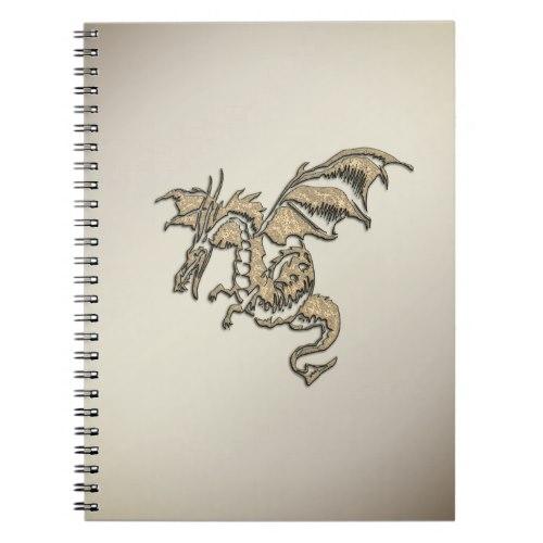 Golden Dragon Notebook