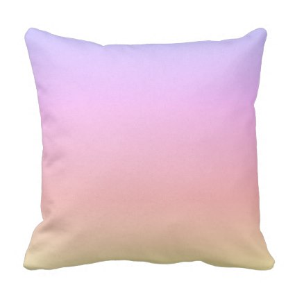 Rainbow Ombre Outdoor Pillow