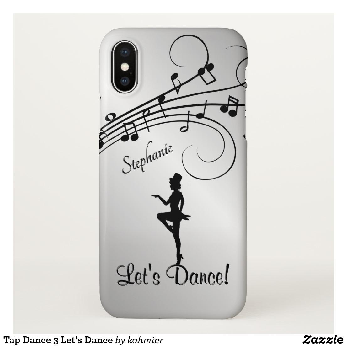 Tap Dance 3 Let's Dance iPhone X Case