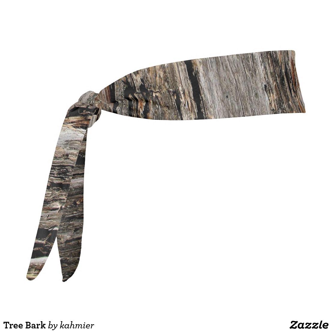 Tree Bark Tie Headband