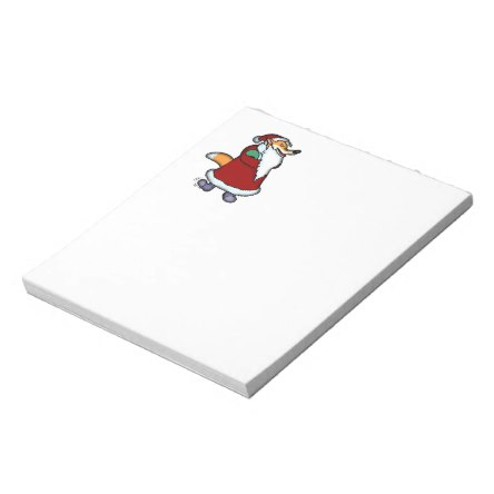 Wolf in Santa Claus Clothing Notepad