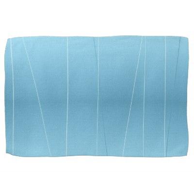 Blue Line Print Towel