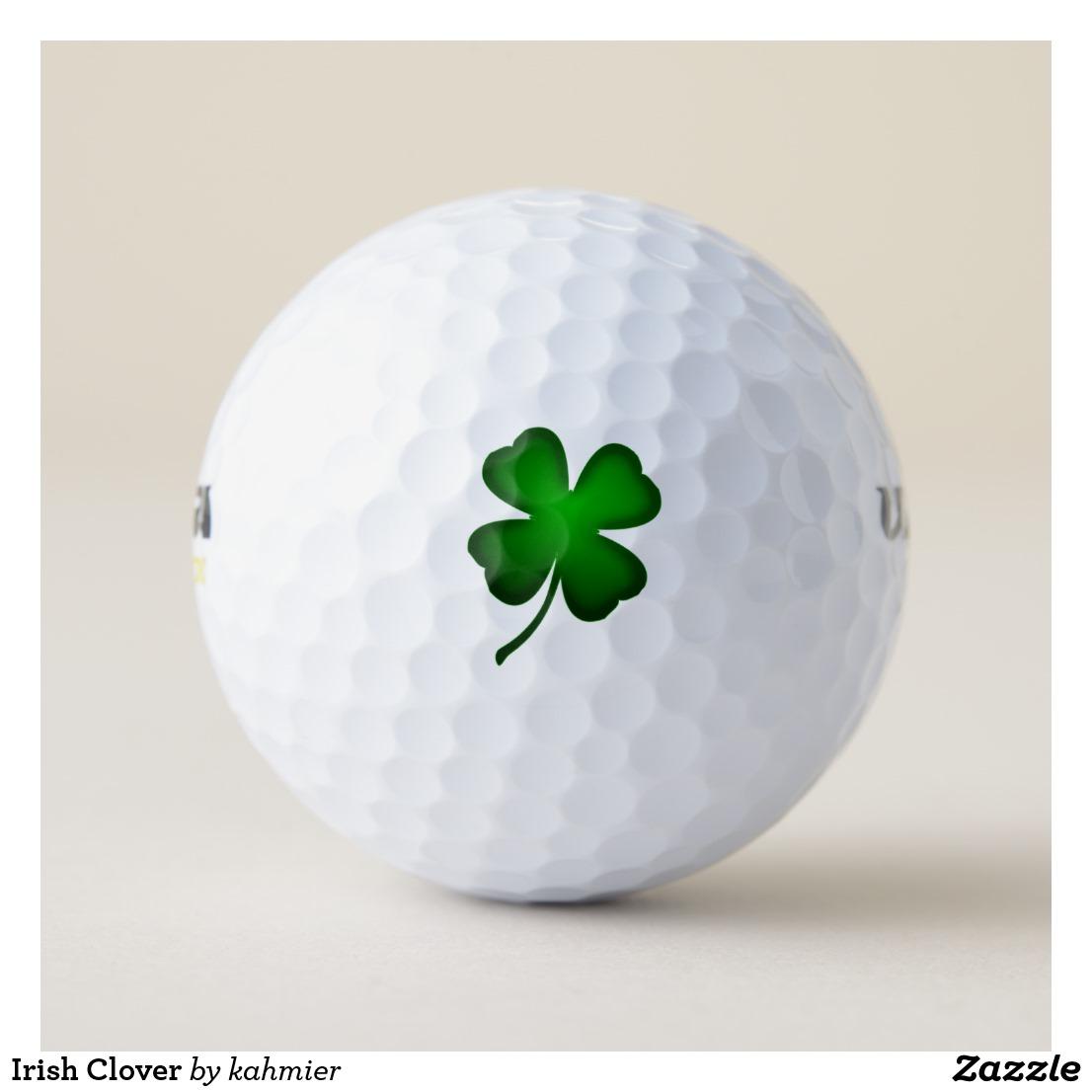 Irish Clover Golf Balls