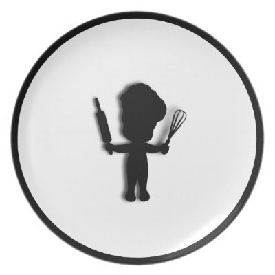 Little Baker / Chef Dinner Plates