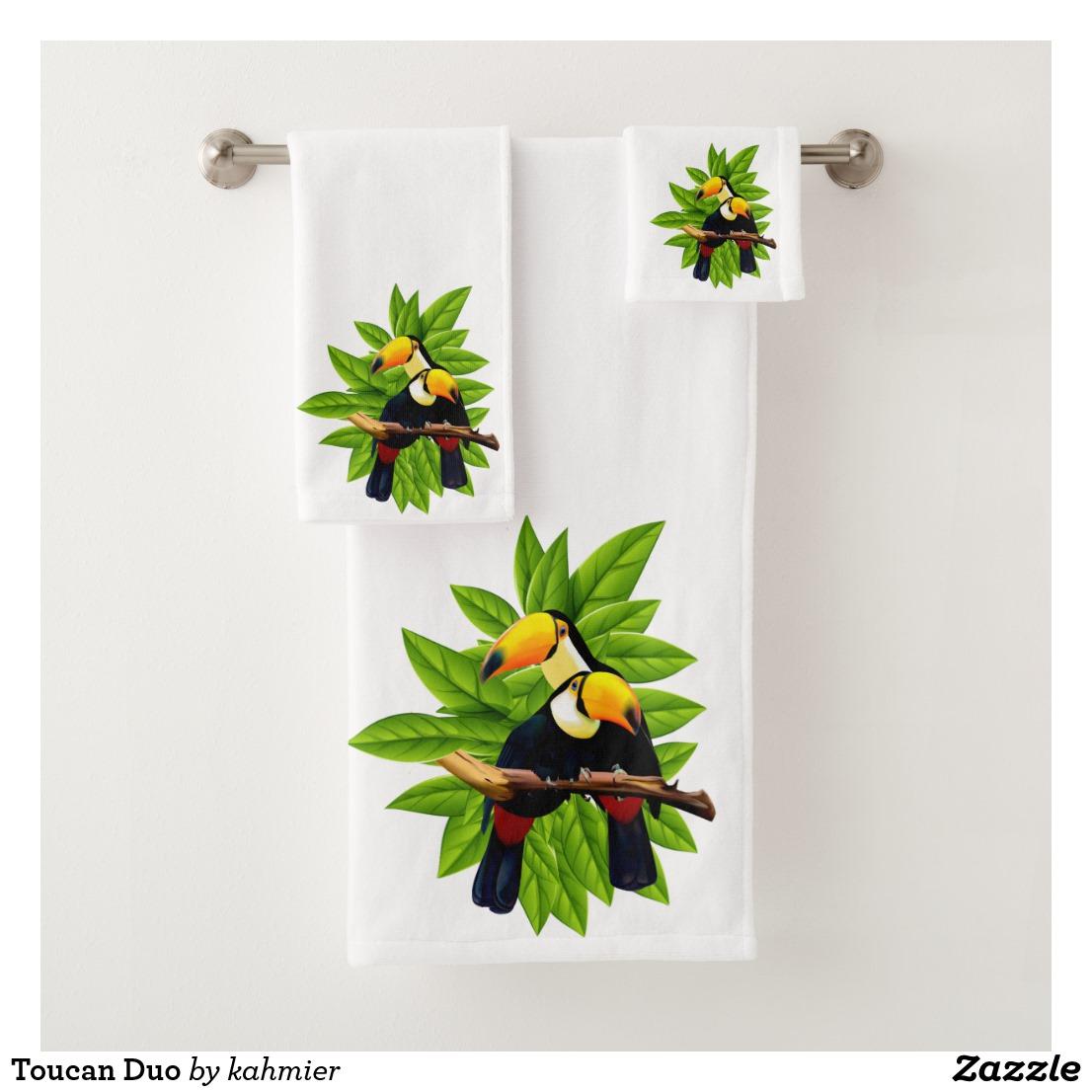 Toucan Duo Bath Towel Set