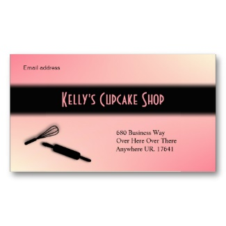 Baker / Baking Business Card