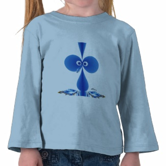 Booby Bird Blue T-shirt
