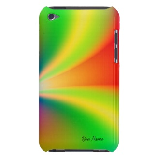 Rainbow Fractal Personal iPod Touch Case