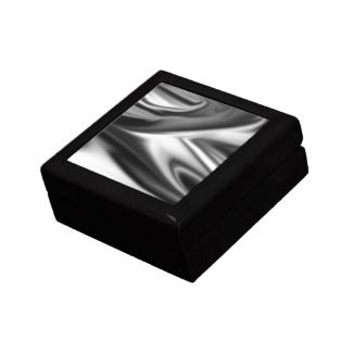 Black and White Splash  Keepsake Boxes