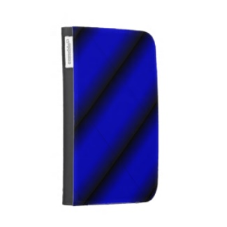 Electric Blue and Black Stripe Kindle 3 Covers
