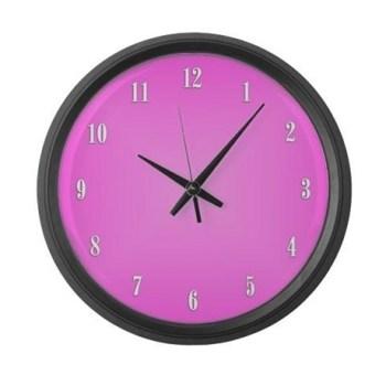 pink_wall_clock_large_wall_clock