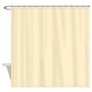 solid_pale_yellow_shower_curtain