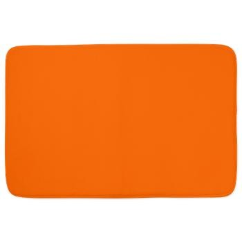 Solid Pumpkin Orange bathmat