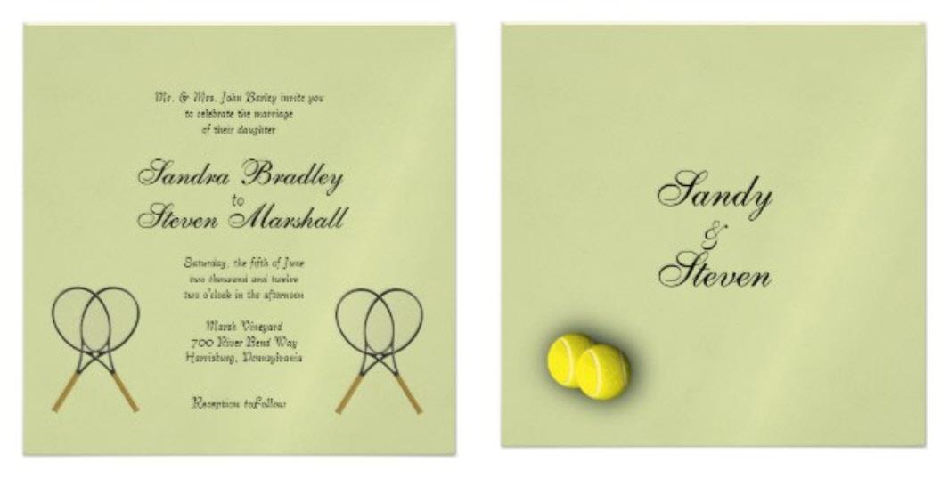 tennis wed