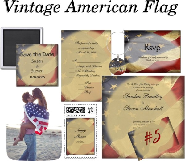 American Flag Wedding Suite