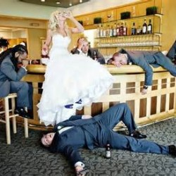 Fun wedding photographs