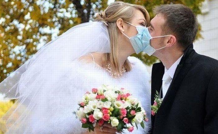 Fun wedding photographs