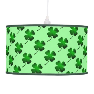 Green Clover Lamp