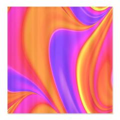 Pink and Gold Flow Shower Curtain