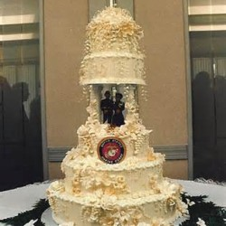 military cake idea