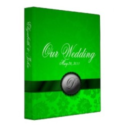 Green Wedding Binder