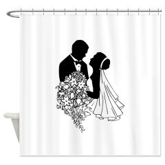 bridal shower curtain