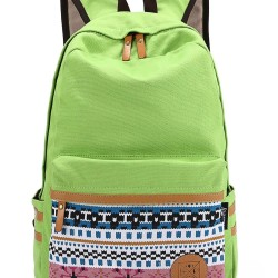 lime green back pack