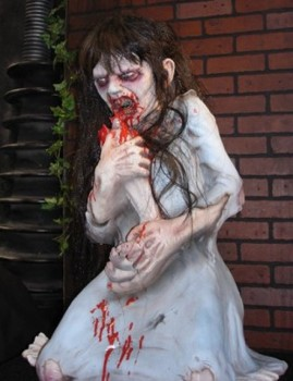 Dead Debbie Non Animated Haunted House Halloween Prop