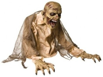 Animated Gaseous Zombie Fog Halloween Prop