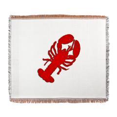 Lobster Throw Blanket