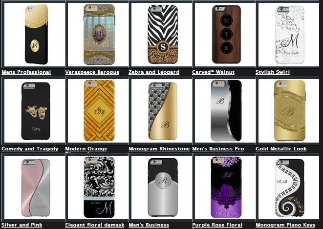 monogram iphone 6 cases