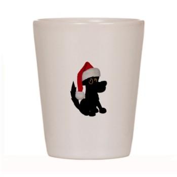 christmas_santa_dog_shot_glass