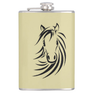 Horse Design Flask