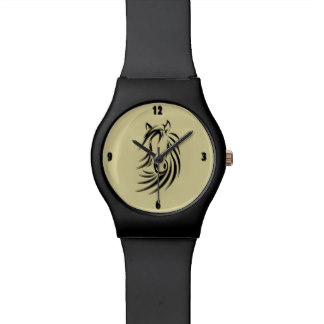 Horse Design Wrist Watch