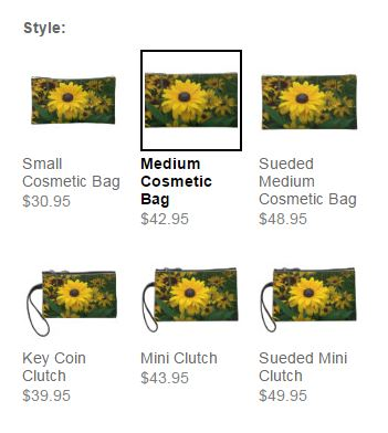 yellow daisy clutch