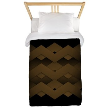 brown_zig_zag_twin_duvet