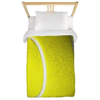 tennis sports duvet cover