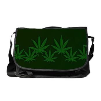 weed messenger_bag