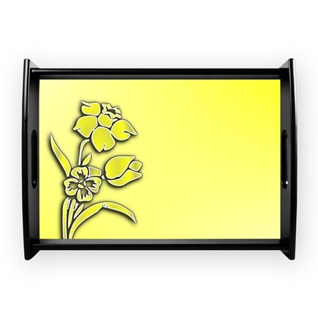 Yellow Daffodil Coffee Tray by Admin_CP11861778