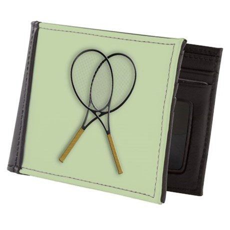 Tennis Sport Design Mens Wallet