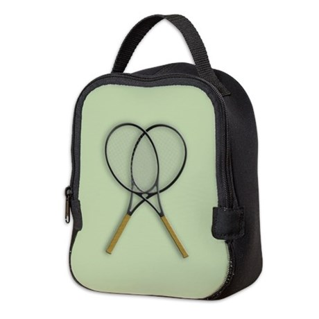 Tennis Sport Design Neoprene Lunch Bag