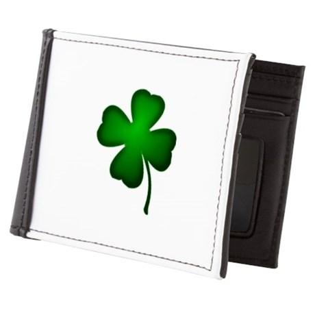 four_leaf_clover_mens_wallet