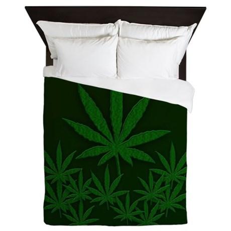 marijuana queen_duvet